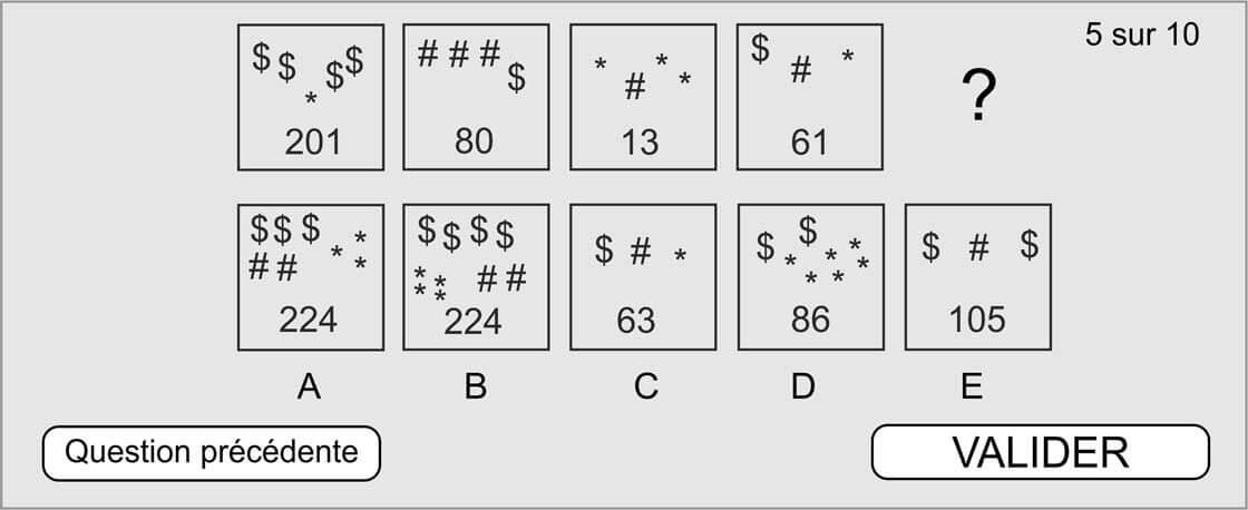 test recrutement cubiks raisonnement abstrait