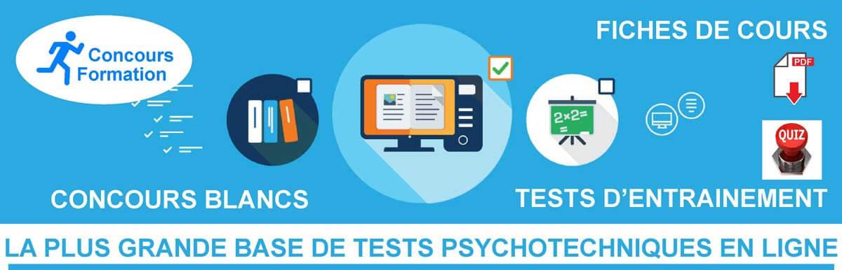 tests psychotechniques gratuits