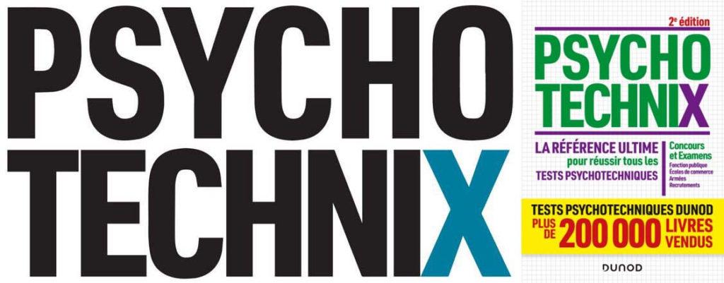 livre dunod psychotechnix